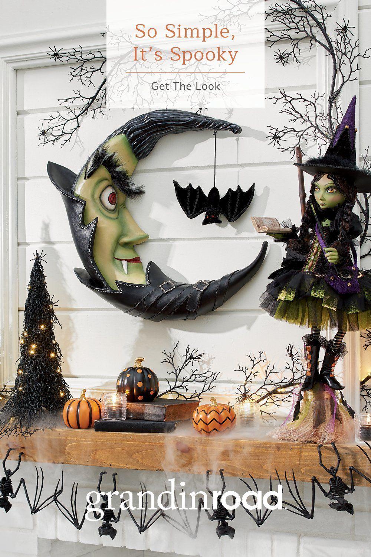 Pin On Halloween Haven Diy Halloween Decorations Fall Halloween Decor Halloween Outdoor Decorations
