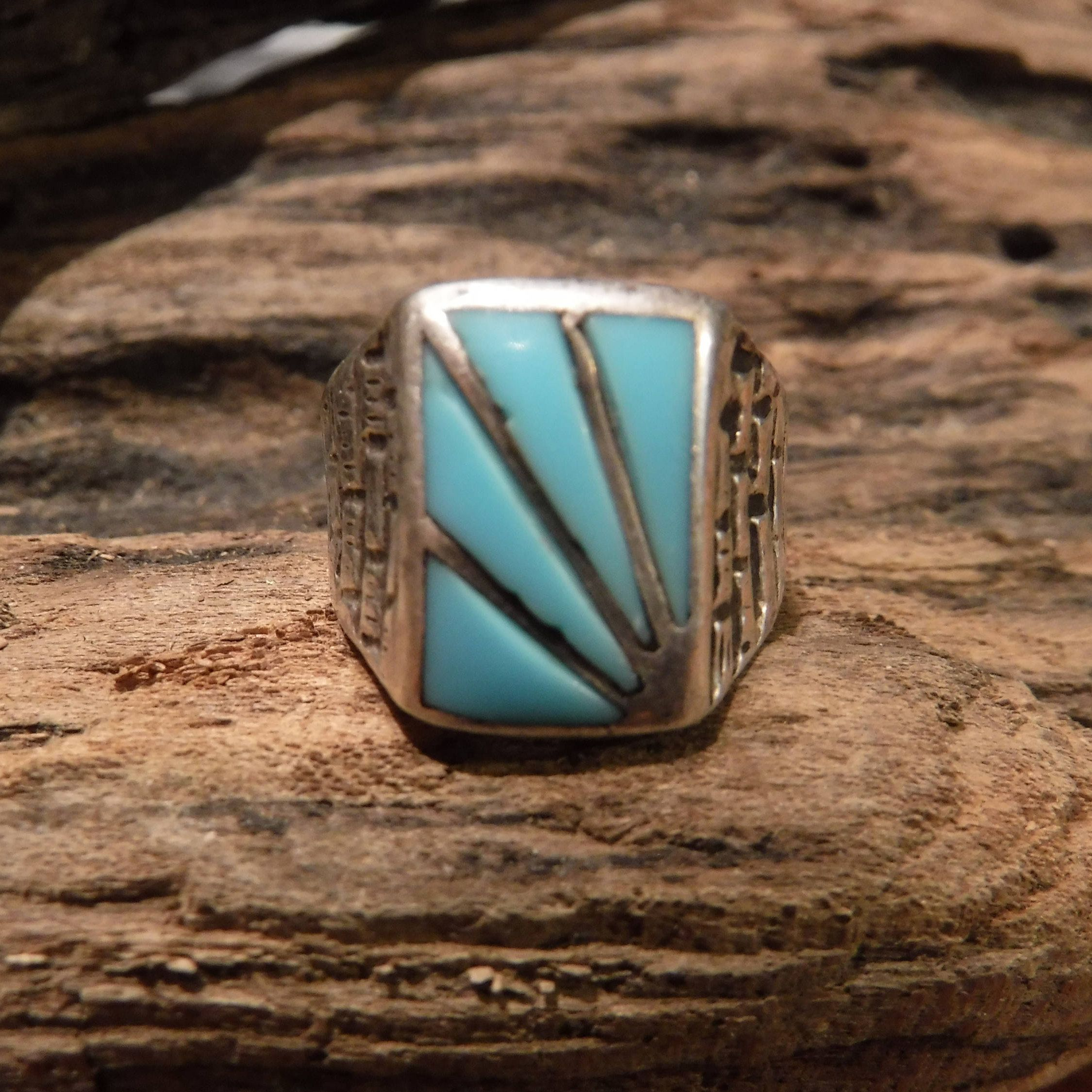 ring navajo turquoise set wedding rings lay engagement