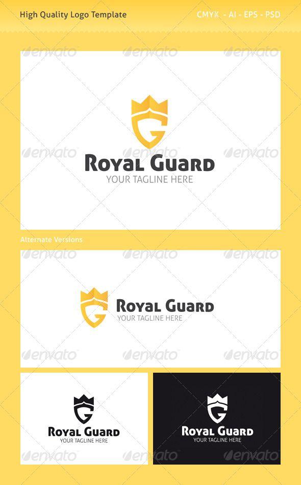 Royal Guard Logo Template #GraphicRiver Royal Guard Logo Template