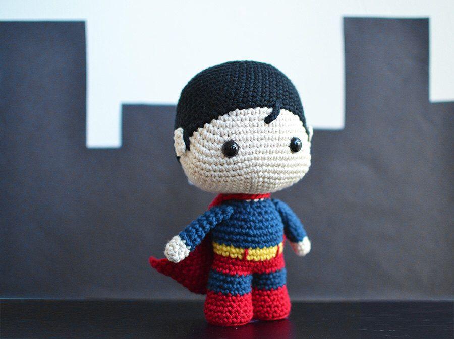 Baby Superhero Crochet Pattern. Superman Crochet Pattern. Superman ...