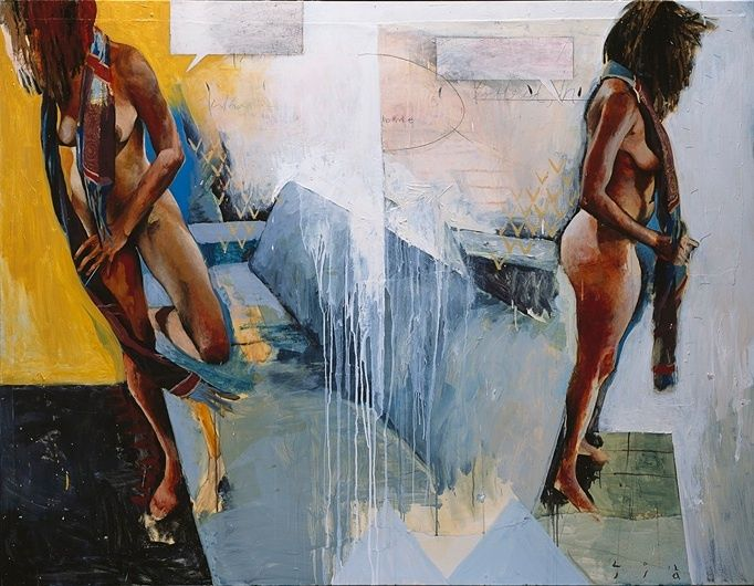 Jason Shawn Alexander's 'SIC' Blends Figurative Painting And Graphic Illustration (PHOTOS, VIDEO)