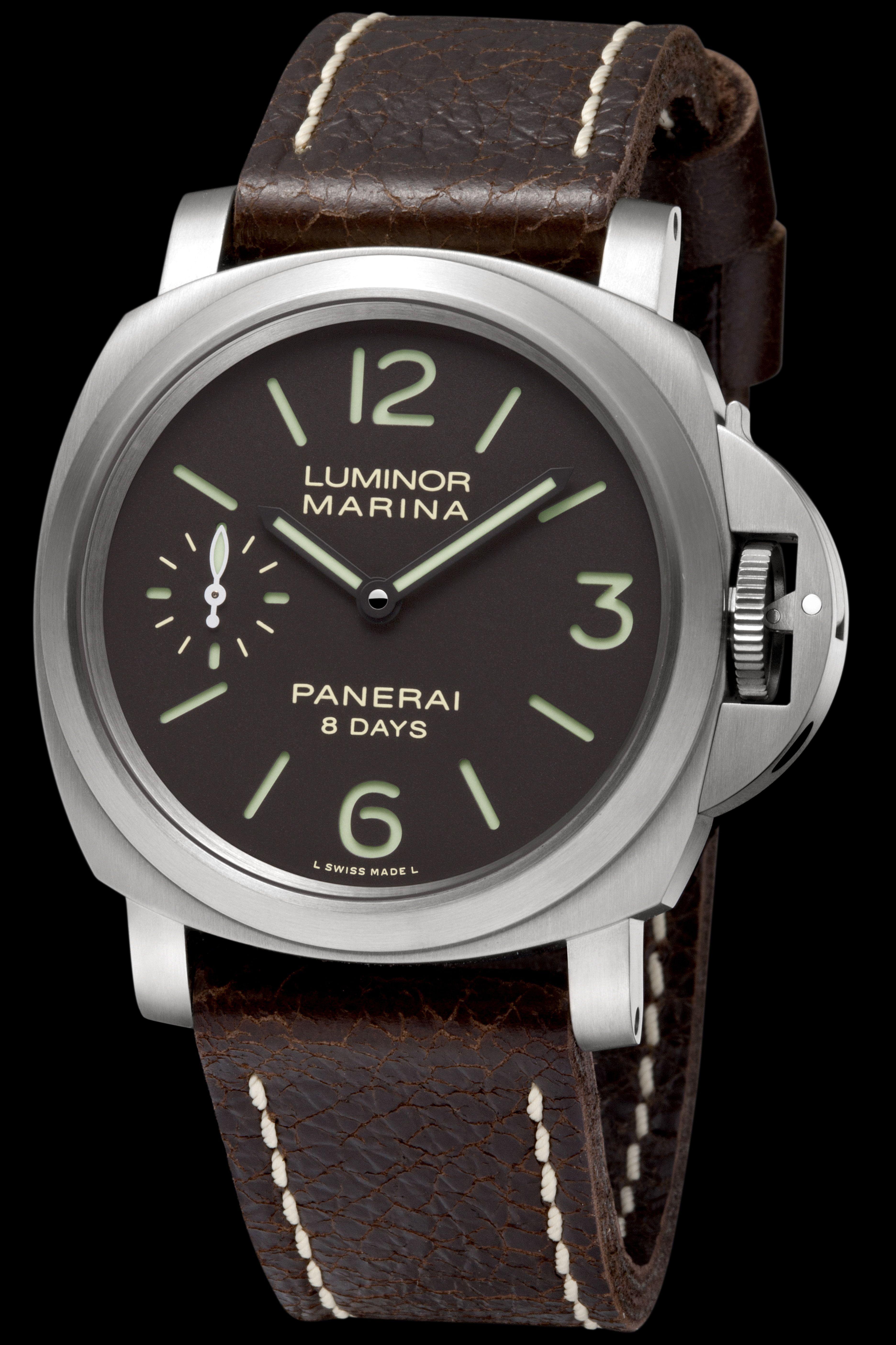 PANERAI: Luminor Marina 8 Days Titanio, REF. PAM00564 http://www.orologi.com/cataloghi-orologi/panerai-historic-luminor-marina-8-days-titanio-pam00564