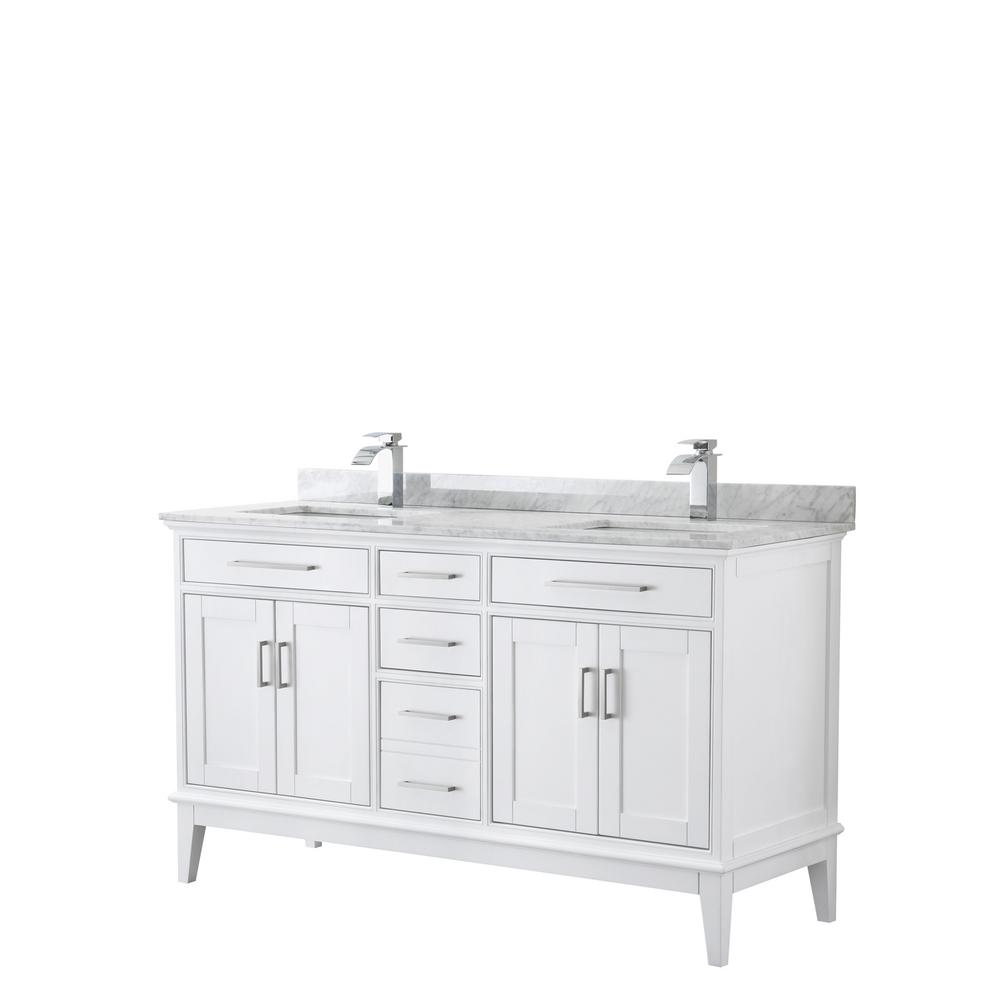 Wyndham Collection Margate 60 In W X 22 In D Bath Vanity In