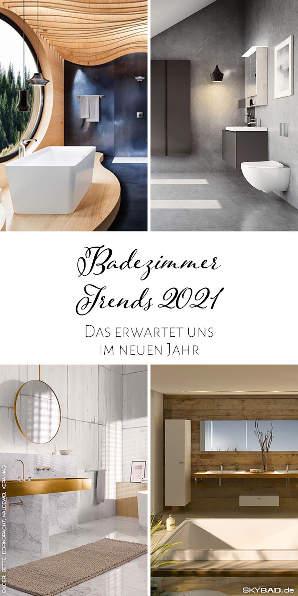 Diese Trends Erwarten Uns Im Jahr 2021 Skybad De Badezimmer Trends Bad Mit Dachschrage Zimmer