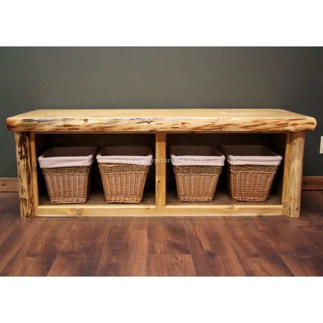 Marvelous Cedar Lake Cabin Log Foot Bench To Make Rustic Bedroom Machost Co Dining Chair Design Ideas Machostcouk