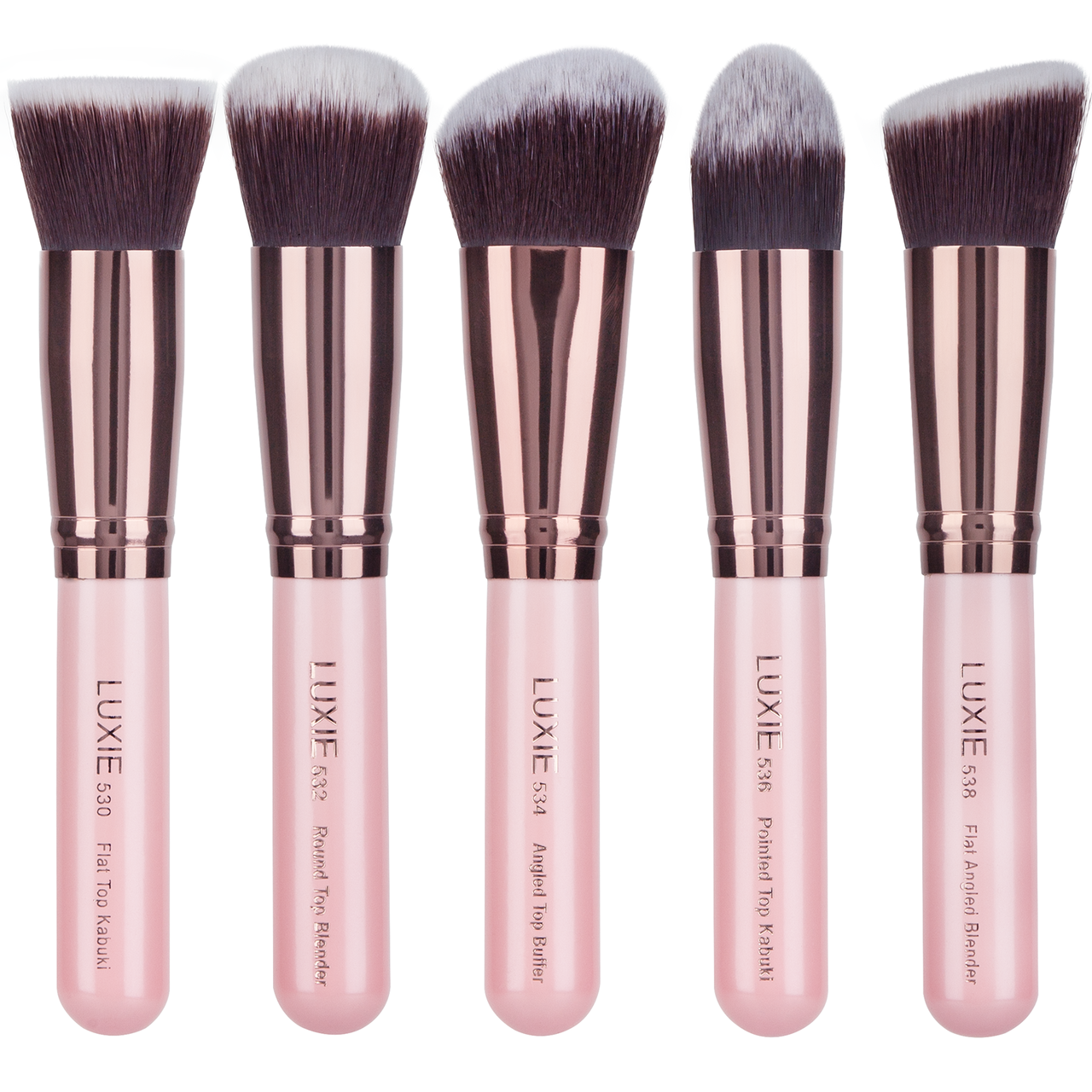 Luxie Kabuki Set Eye brushes set, Kabuki brush set