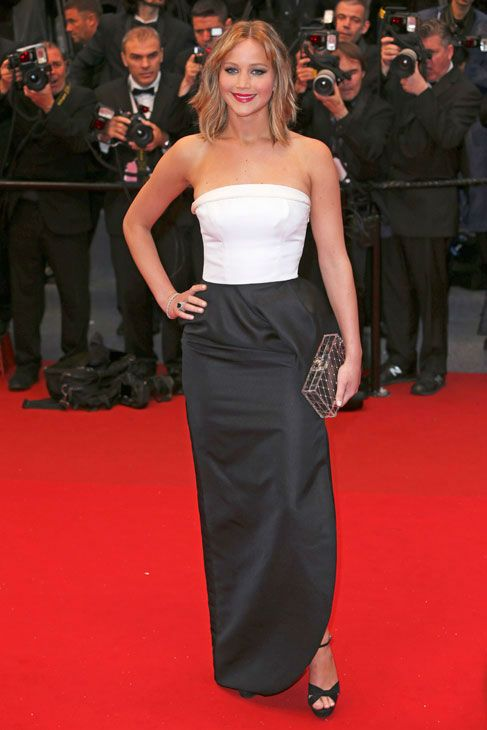 Jennifer Lawrence in Dior at the 2013 Cannes Film Festival ...