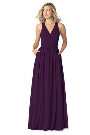 Love the wrap and the cool back!   Bari Jay Bridesmaids   Bridesmaid Dresses, Prom Dresses & Formal Gowns: Bari Jay and Shimmer