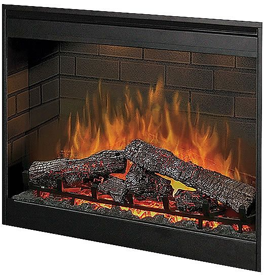 "Dimplex 30"" Air-Purifying Self-Trimmed Electric Firebox DFB8842 