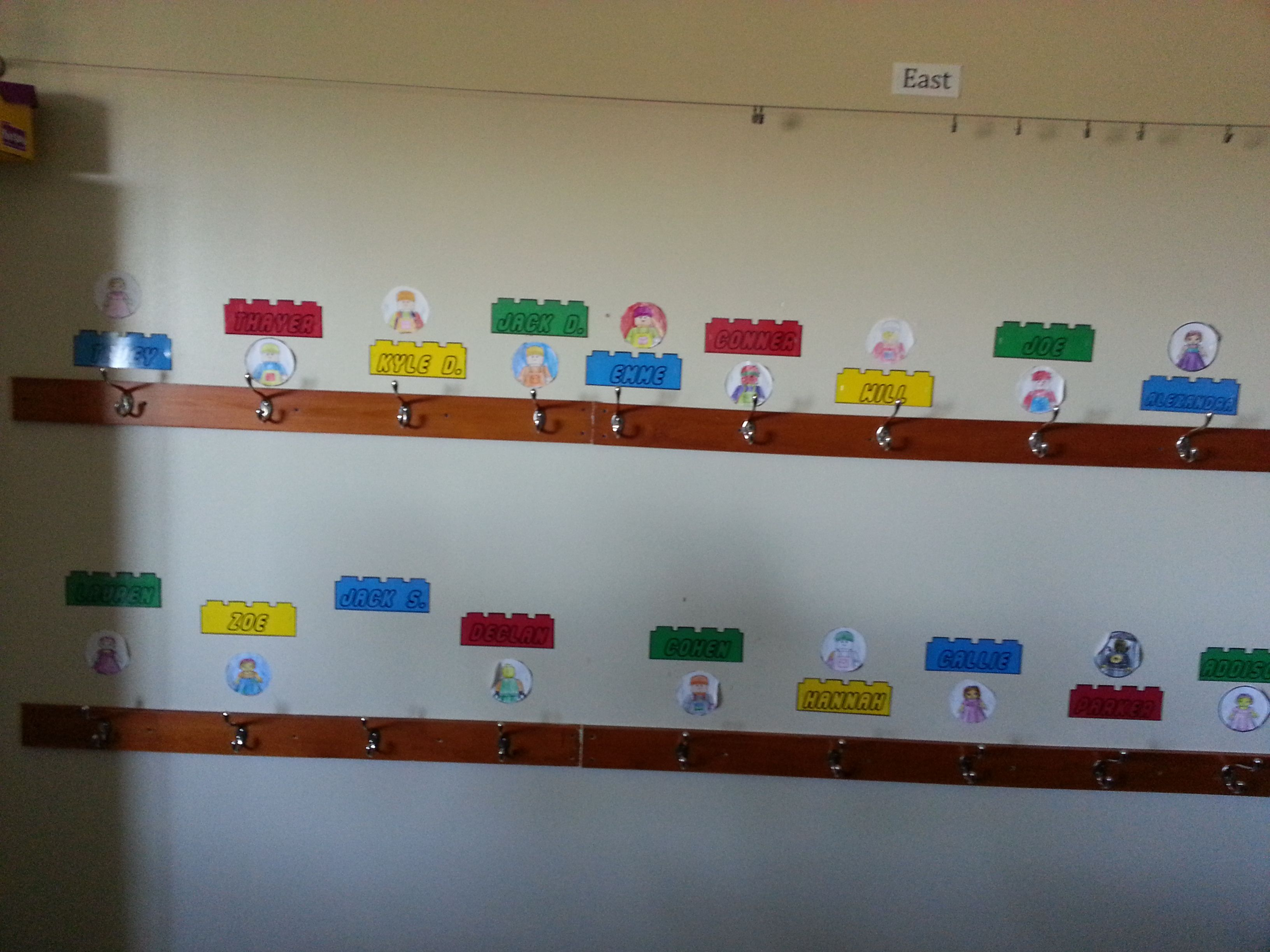 Lego Classroom Decor ~ Name tags for my lego classroom education pinterest