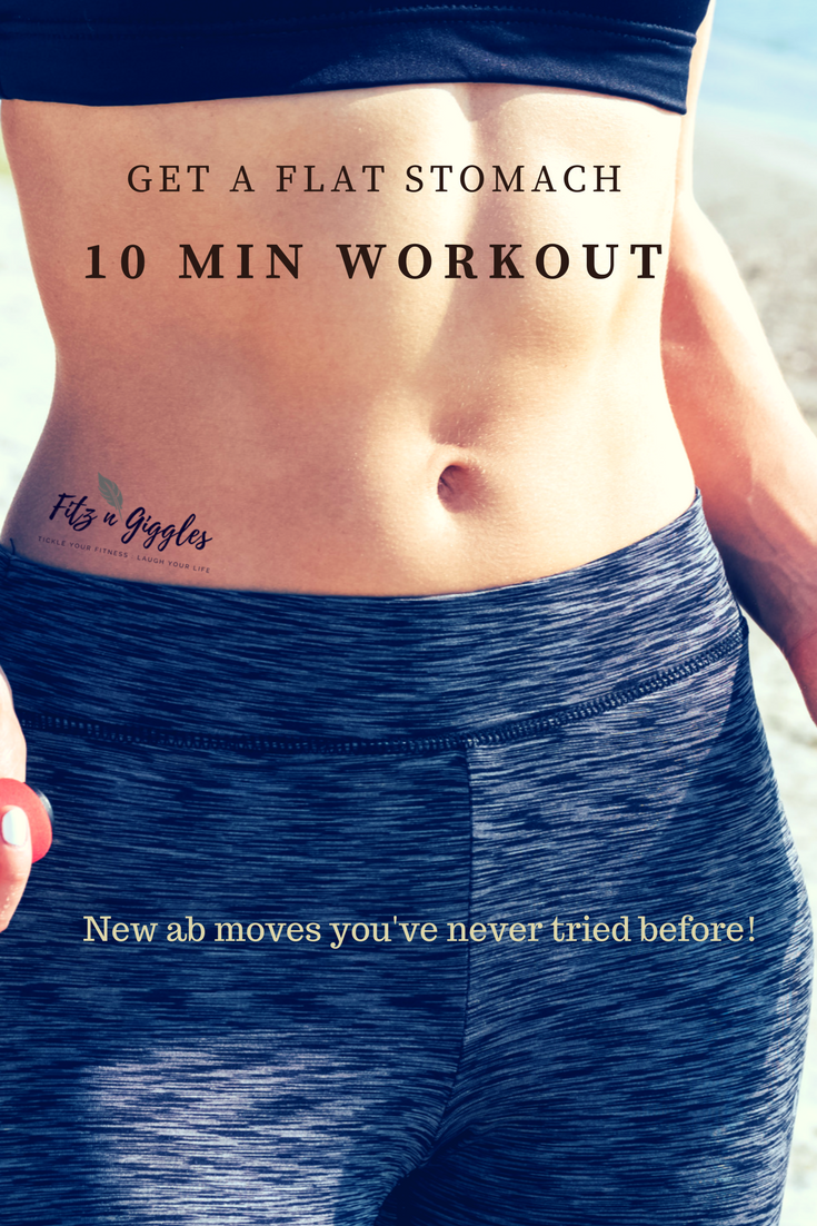 This quick 10min workout video includes new core / abs moves & cardio to  burn fat & build strength. Burn heaps of calories in no time flat.