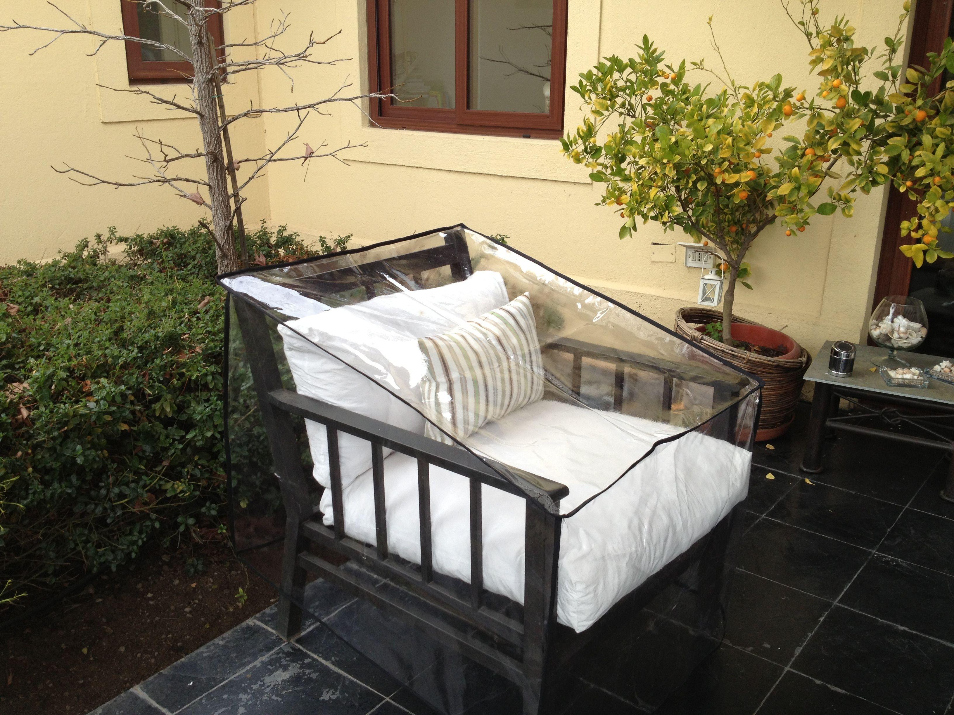 Fundas pvc para muebles de terraza fundas pvc para for Sillones de terraza