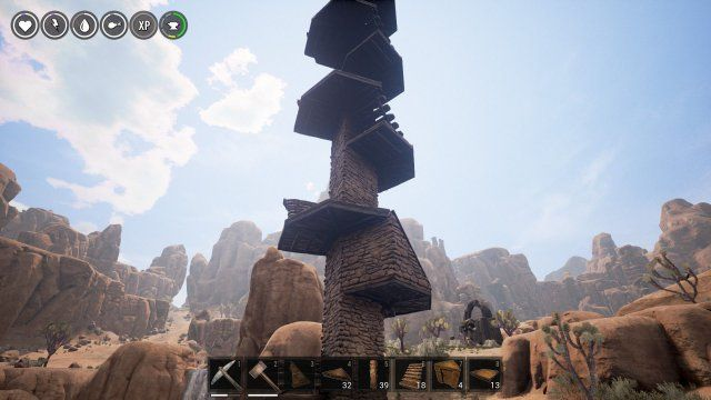 Conan Exiles - Circles And Spiral Stairs In 2019