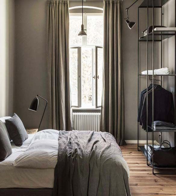 Luxurious Home Decor Ideas That Will Transform Your Living: Own Your Morning //urban Closet // City Life // Bedroom
