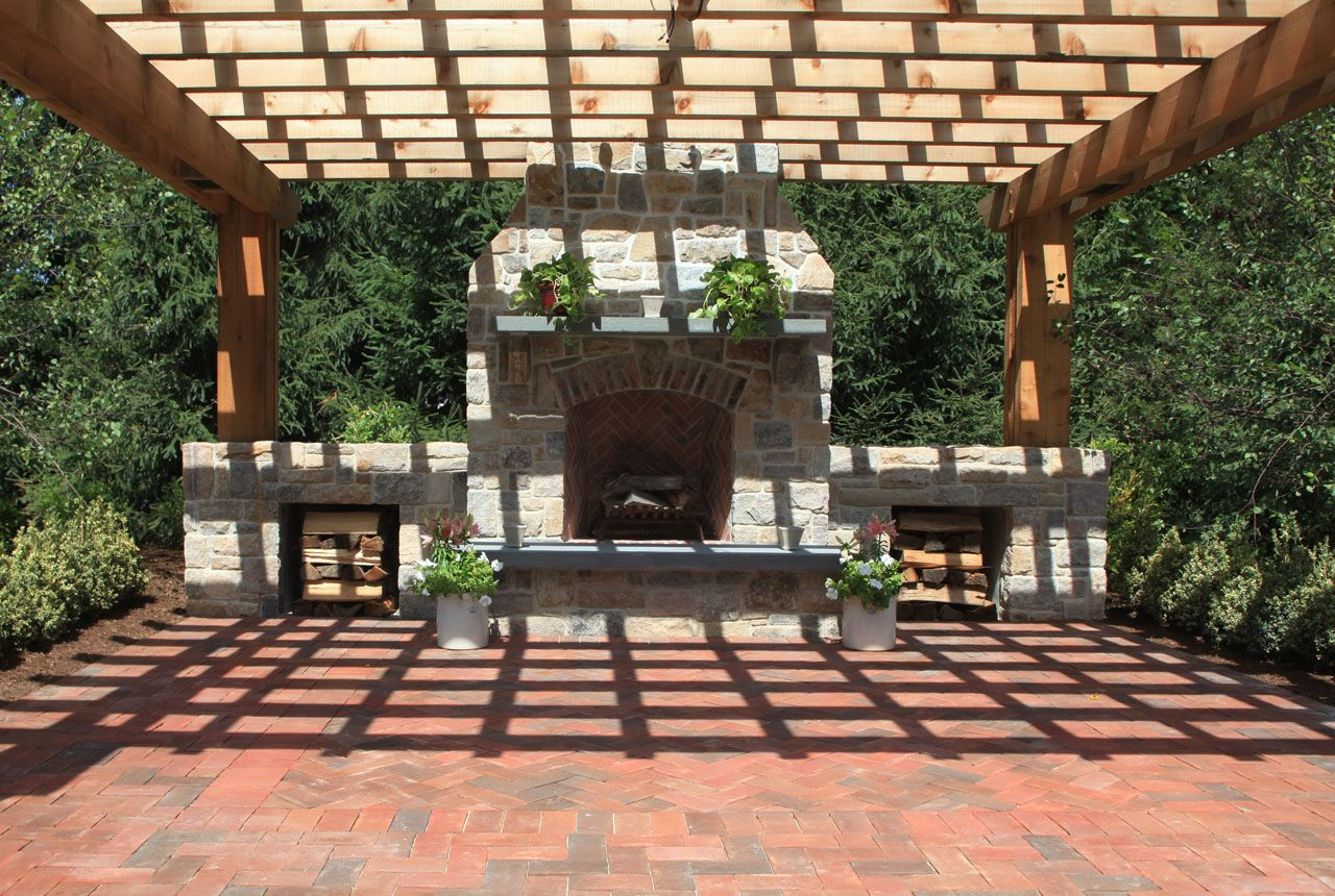 30+ vintage patio designs with bricks | pergolas, patios and bricks