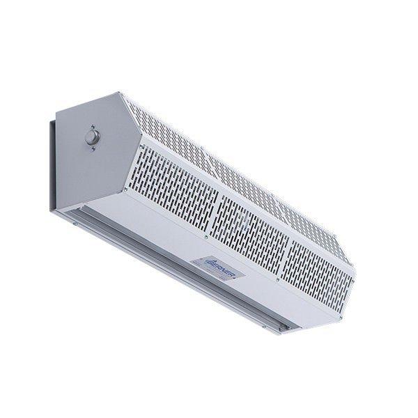 Berner S Sanitation Certified Low Profile 7 Air Curtain Door Switch Types Of Doors Door Stays