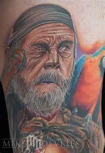 Tattoo pirate et son perroquet ..