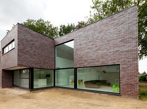 Mijn huis mijn architect projectgegevens natalie de smet big inspiration home design - Foto modern huis ...