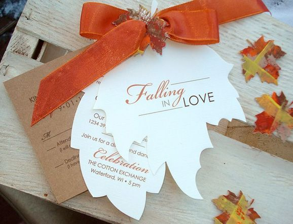 Fall Wedding Invitations And Inspiration