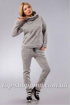 Теплый женский спортивный костюм с капюшоном 02100  6a262dcf27d1a