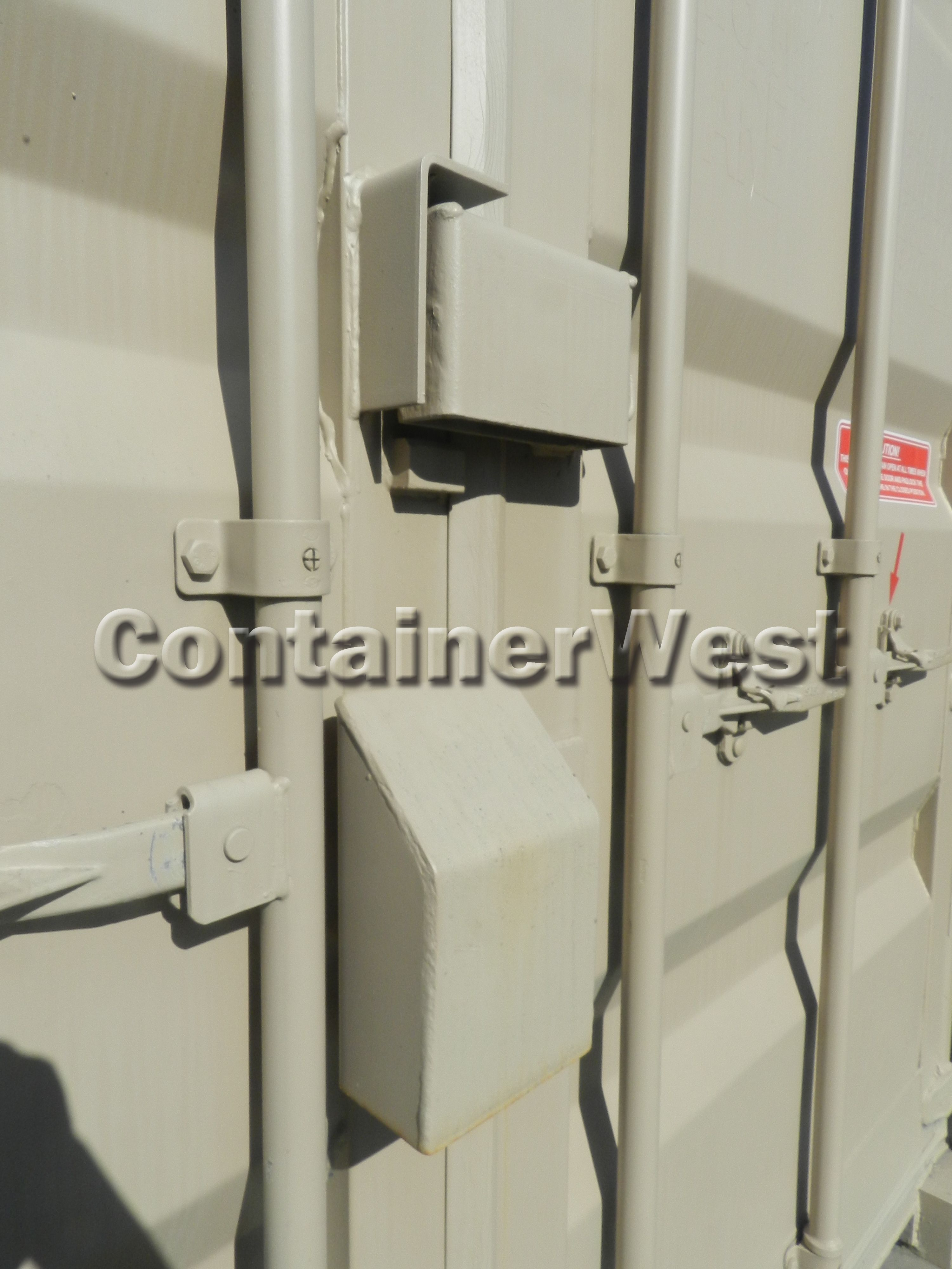 If you need a secure storage unit then a shipping container with