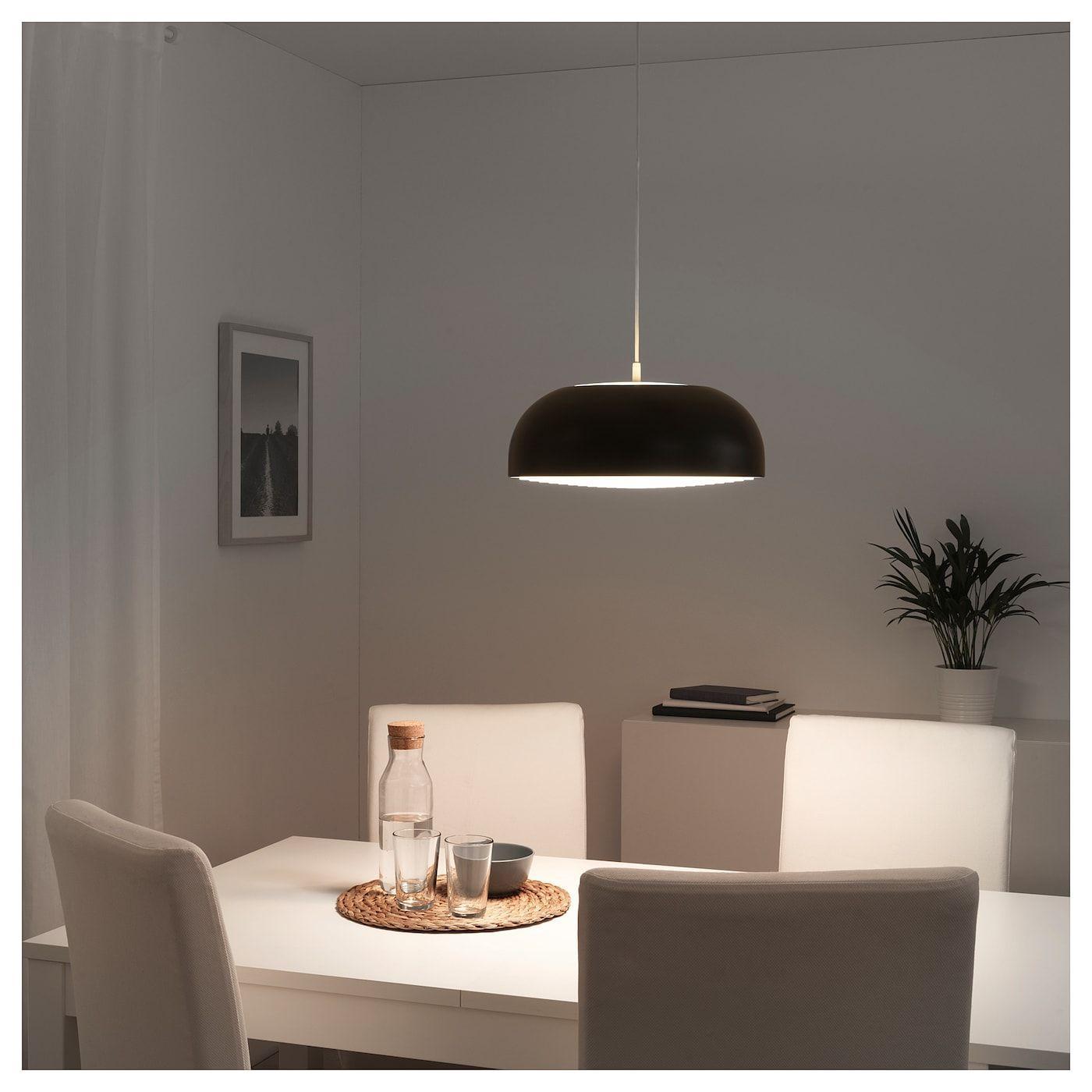 NYMÅNE Pendant lamp anthracite IKEA in 2020 | Pendant