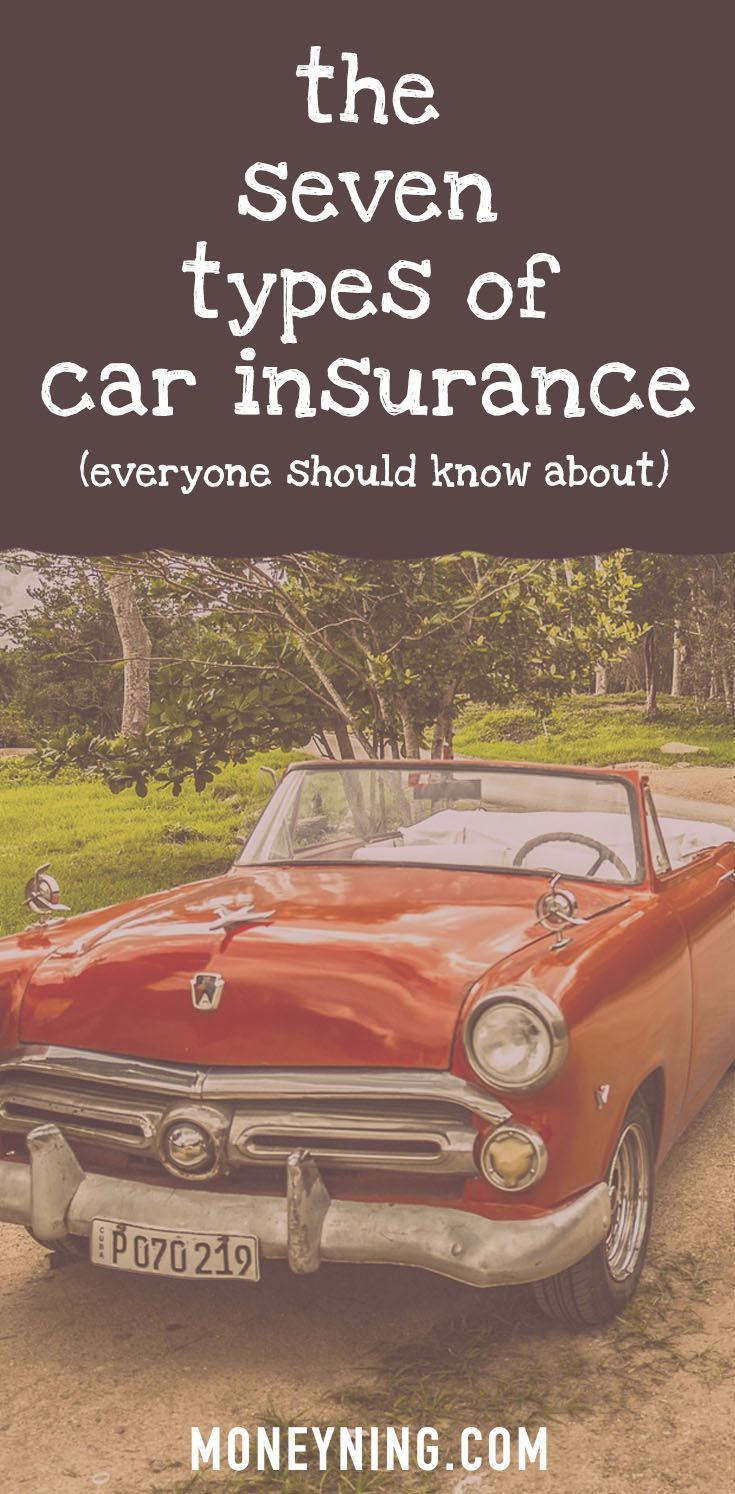 7 Types of Car Insurance Which Ones Do You Really Need