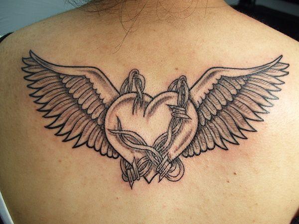 Small Angel Wings Tattoo Small Wing Tattoo 38 Decorative Wing