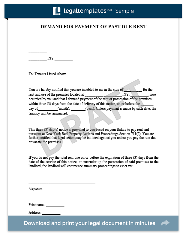 Eviction Notice Sample  For More Information On Eviction Notices