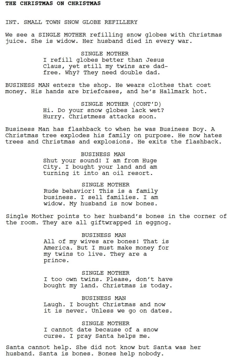 How To Get A Bot To Write A Script