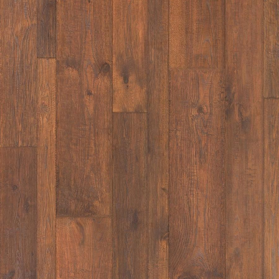 Pergo TimberCraft 748 In W X 393 Ft L Hillcrest Hickory Handscraped Wood Plank Laminate Flooring