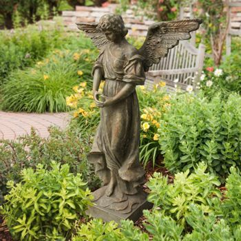 Costco Garden Angel Statue Garden Statue Pinterest Angel