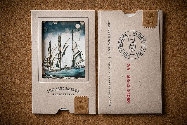 Michael Barley Business Card by 3 Advertising, via Flickr