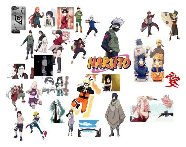 """Naruto"" by shamoodah-sakura-ajam-haruno on Polyvore featuring art"