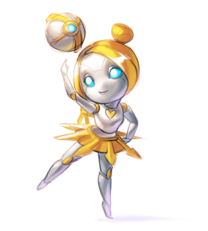Chibi Orianna posted byjustduet// Cute~! :D