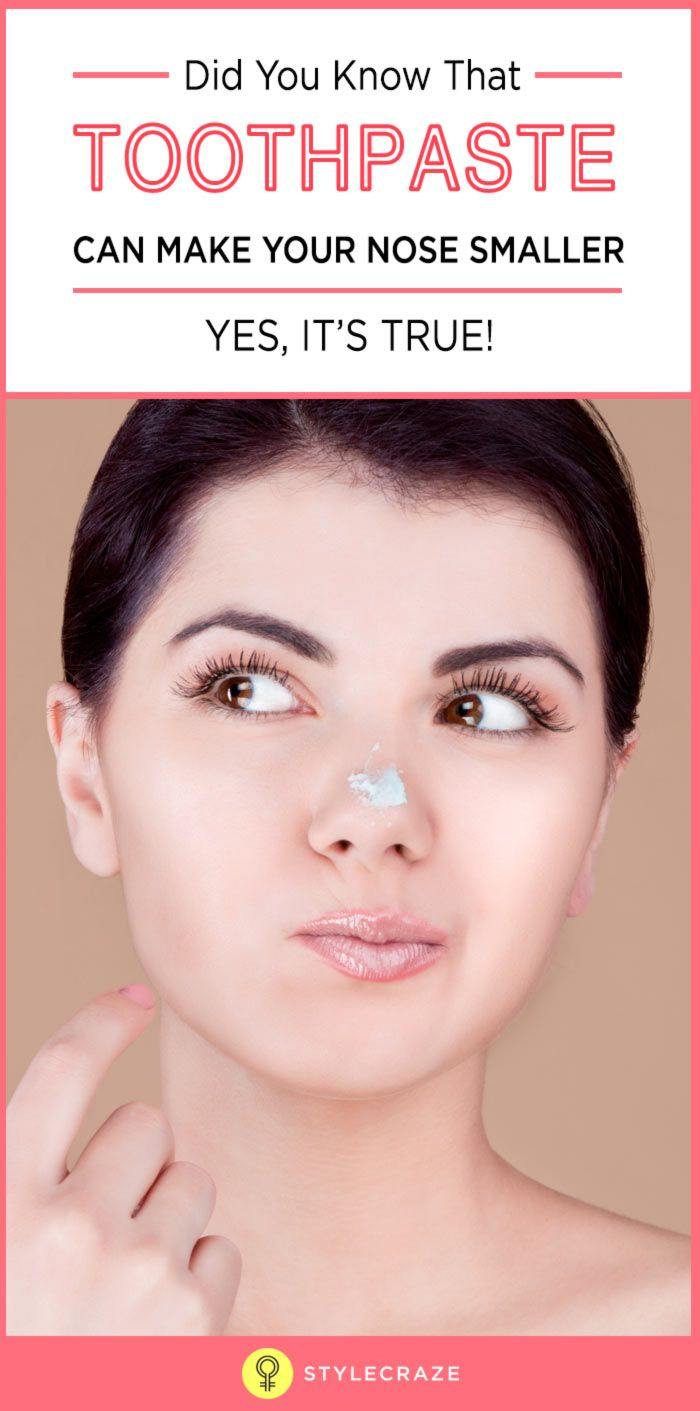 Ways to make your nose smaller naturally