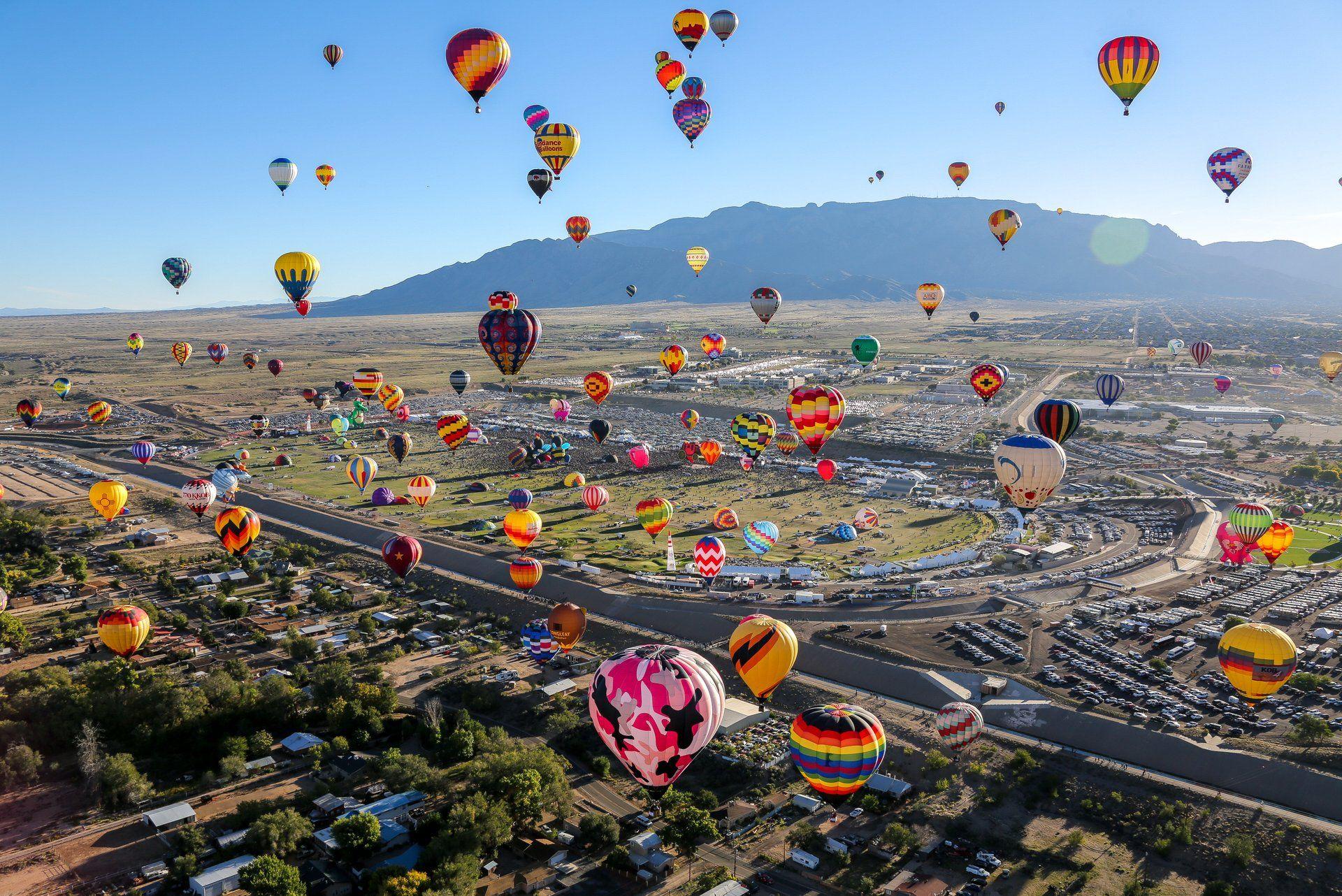Albuquerque International Balloon Fiesta 2020 in New
