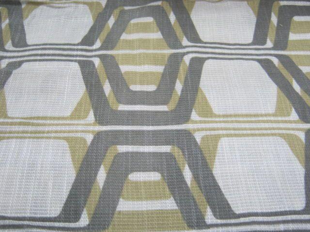 1970s Geometric Fabric