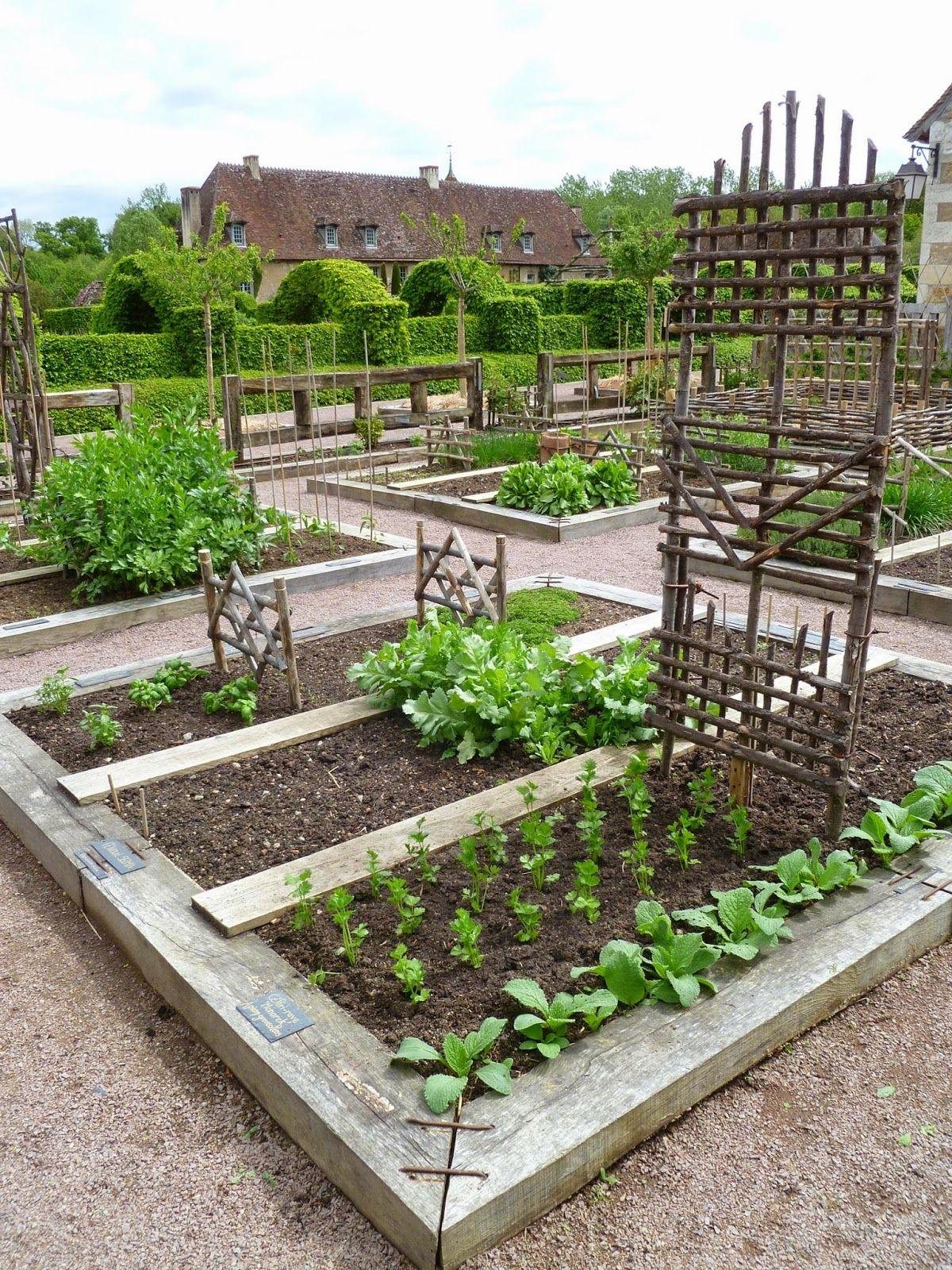 Prieuré Notre Dame D Orsan Vegetable Garden Garden 640 x 480
