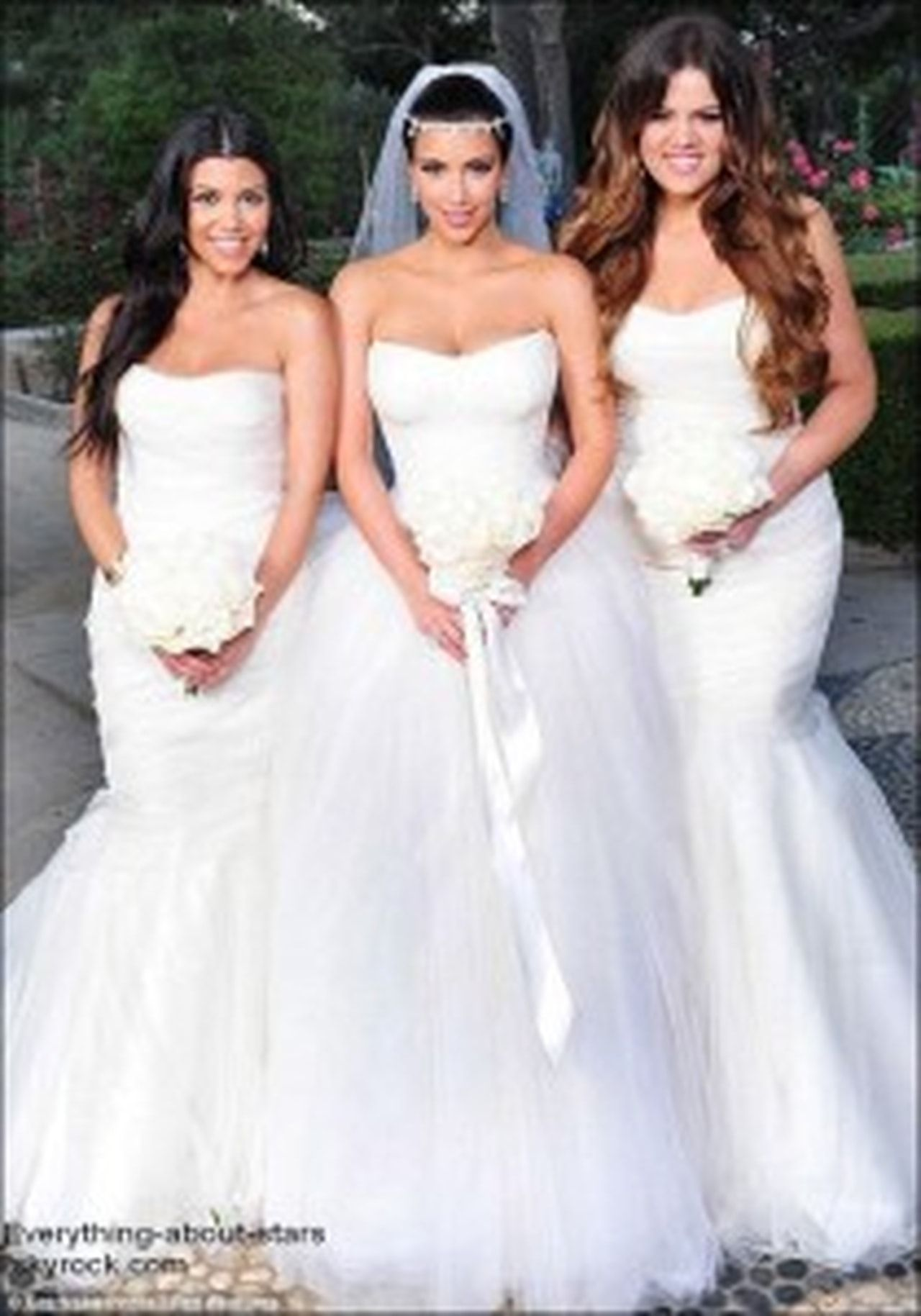 Gowns Kardashian Bridesmaid Khloe