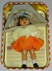 Vintage 1998 Mariquita Perez Spanish  Doll 8 Inch Orange Dress w/ Headband #Doll #spanishdolls