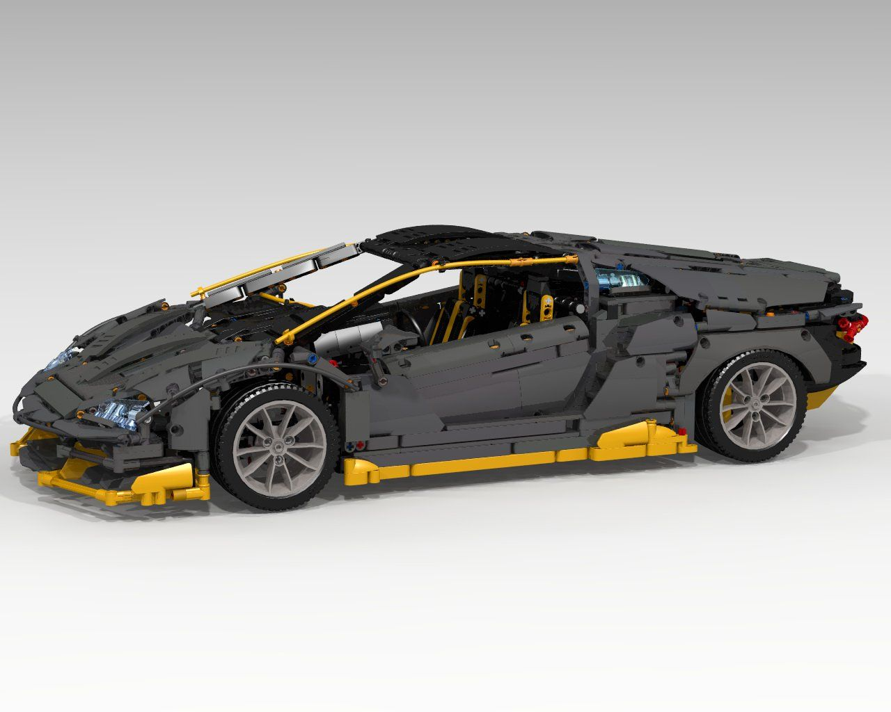 Lego Lamborghini Centenario Wants To Sit On Your Desk Will You Help It Carscoops Lamborghini Centenario Lego Wheels Lego Moc