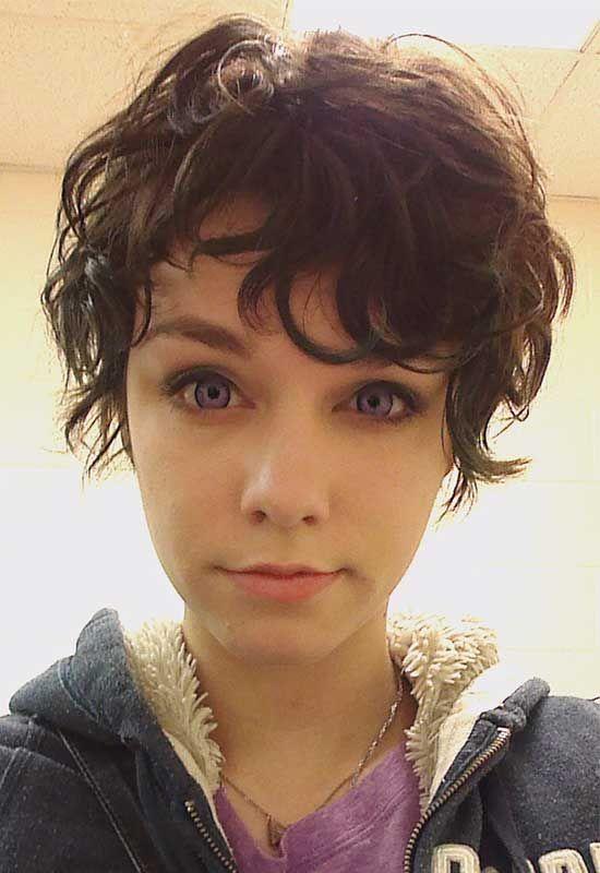 15 Charming Pixie Cut For Curly Hair For Women Hair Pinterest