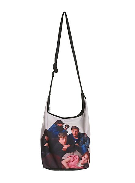 The Breakfast Club Poster Hobo Bag | Hot Topic