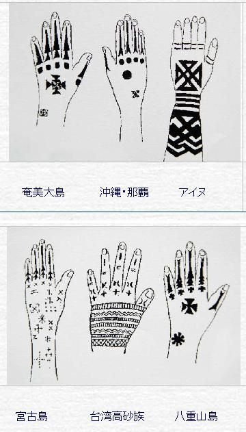 back in the older days of okinawa women used sharpened bamboo as a needle to get tattoos on their arms and hands as a magi okinawa tattoo back tattoo okinawa