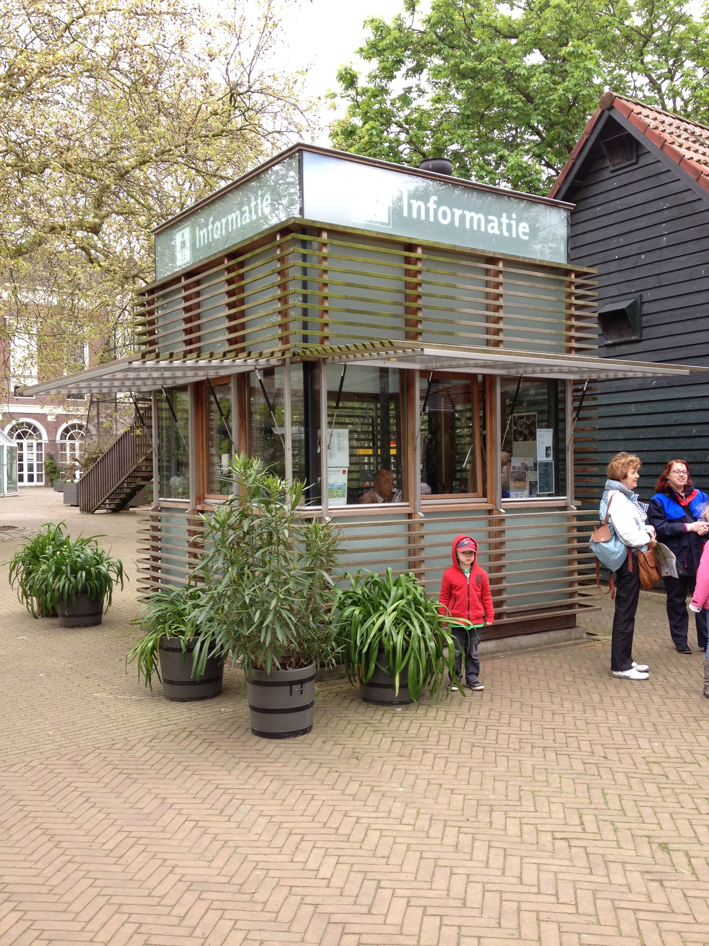 Information Booth Artis Royal Zoo Amsterdam Arquitectura