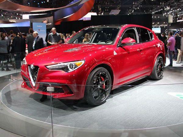 The 2018 Alfa Romeo Stelvio (Type 949) is an SUV model of the ...