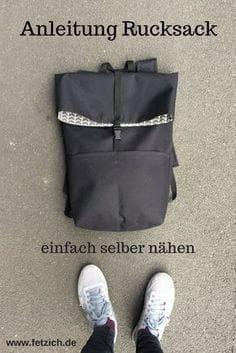 Instructions: Cousez un sac à dos en tissu Oxford vous-même assez   – Kulturbeutel