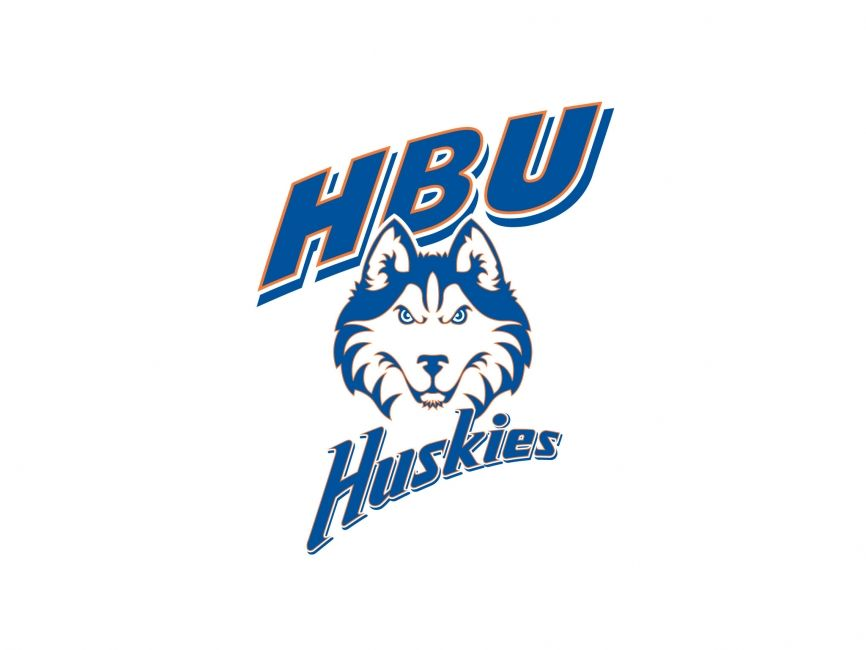Commercial Logos Sports Houston Baptist Huskies Husky Husky Logo Vector Logo