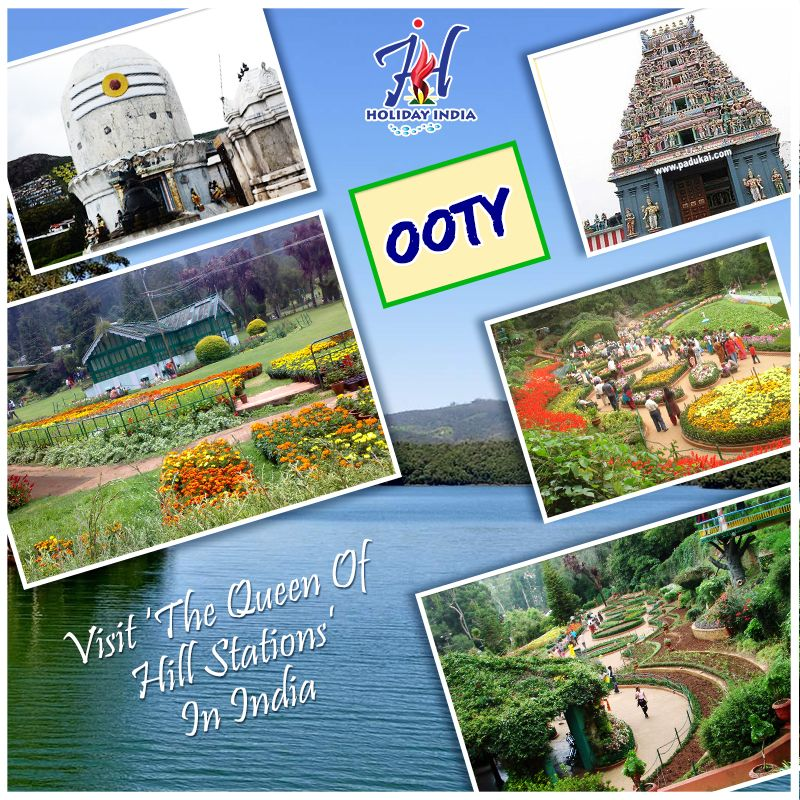 Ooty is one of the most beautiful hill station of India. Ooty is situated in the Nilgiri Hill, located in Tamilnadu. Discover the beauty of Ooty with us. For Booking click here - http://www.theholidayindia.com/hill-station-tour.php